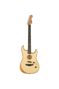 Fender Acoustasonic Strat Acoustic/Electric Guitar - Natural