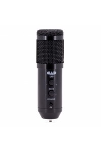 CAD Audio u49 USB Side Address Studio Microphone with Headphone Monitor and Echo Signal Processing