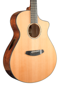 Breedlove Solo Concert CE Acoustic/Electric Guitar - Red Cedar