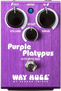 Way Huge Purple Platypus MkII Octidrive Effect Pedal