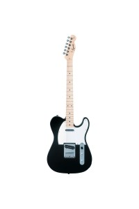 Squier Affinity Series Telecaster with Maple Neck- Black